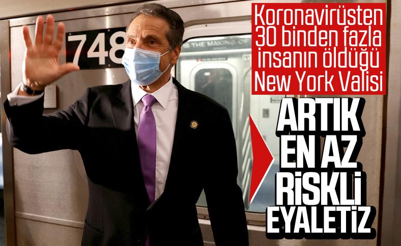 New York, koronavirüs bulaşma riski en düşük eyalet oldu