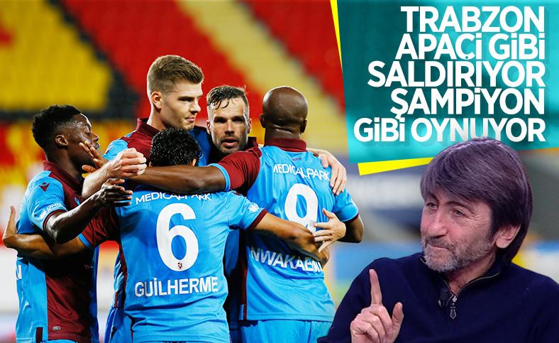 Rıdvan Dilmen: Trabzonspor'da şampiyonluğa inanmışlık var