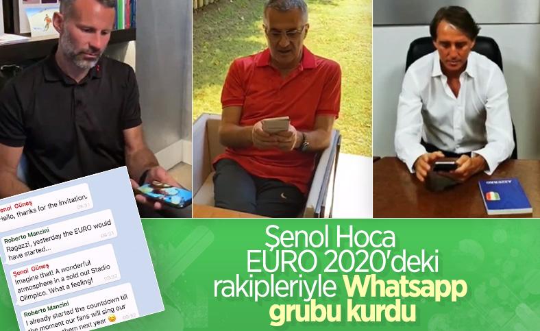 Şenol Güneş EURO 2020'deki rakipleriyle mesajlaştı