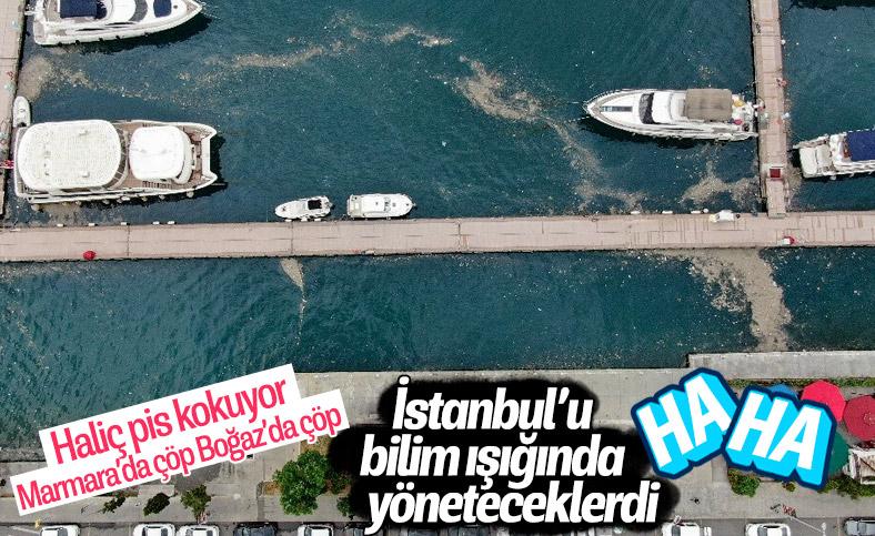 İstanbul Boğazı'nda çöp adaları oluştu
