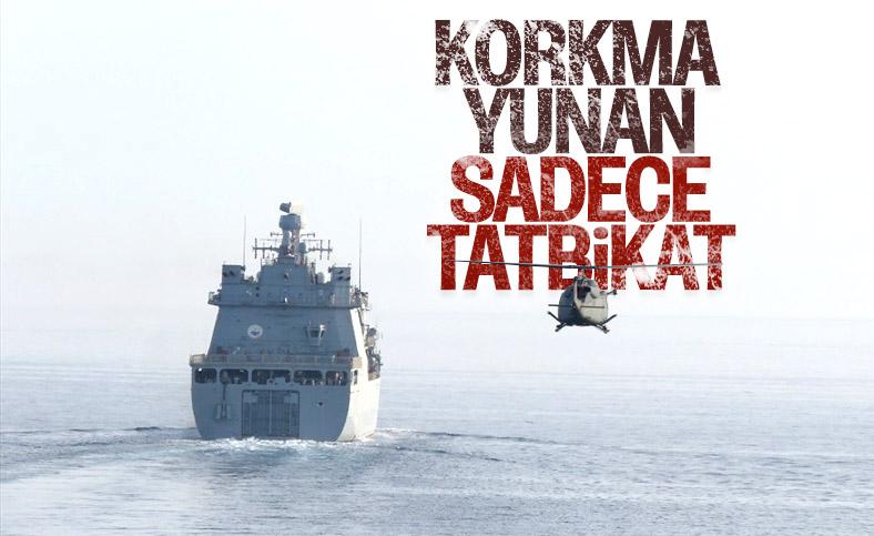 Deniz Kuvvetleri'nin harekata hazırlık eğitimleri yapıldı