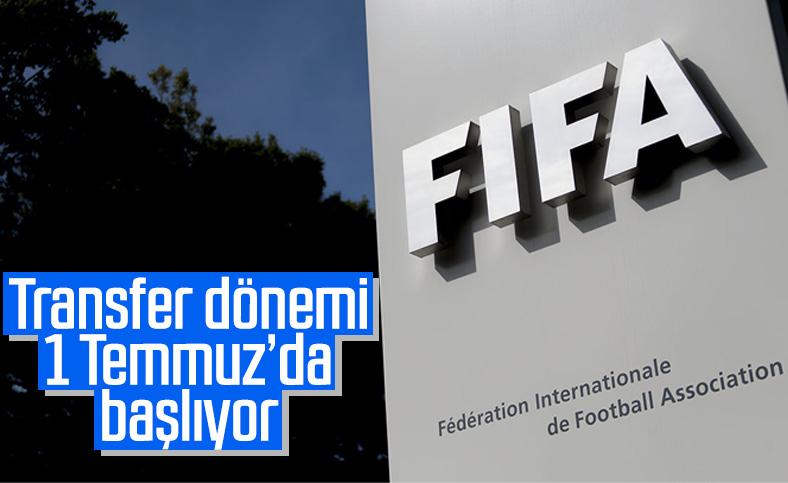 Türkiye için transfer sezonu 1 Temmuz'da başlıyor