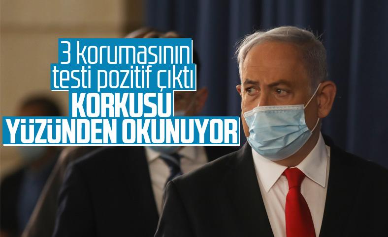 Netanyahu'nun korumaları koronaya yakalandı