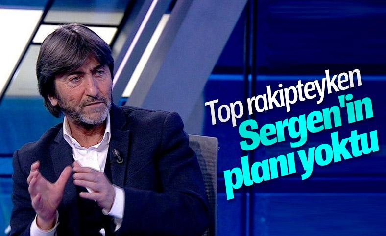 Rıdvan Dilmen'den Sergen Yalçın'a eleştiri