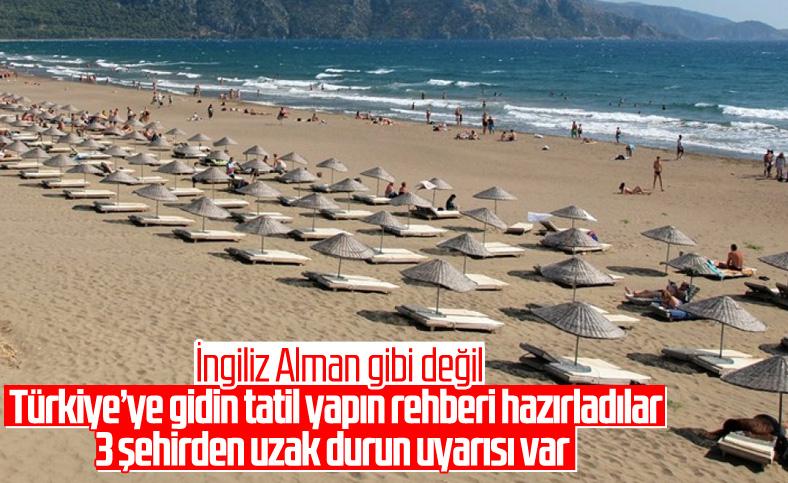 İngilizlerden Türkiye için güvenli seyahat rotası