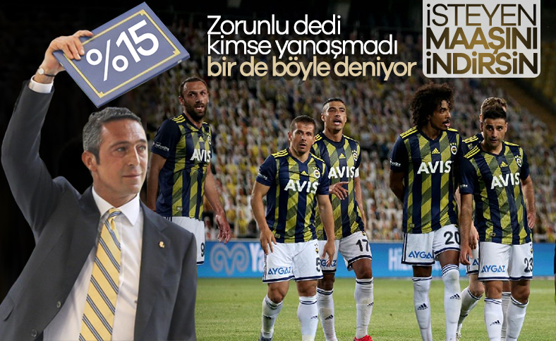 Fenerbahçe yönetimi, oyunculardan indirim bekliyor