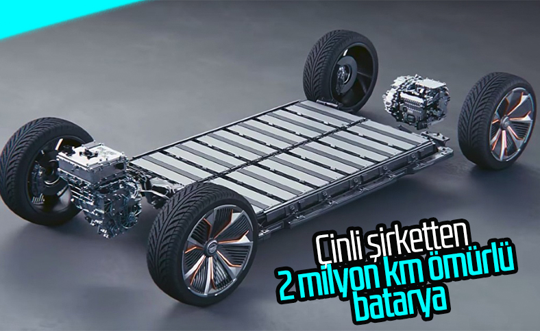CATL, 2 milyon kilometre ömürlü batarya üretti