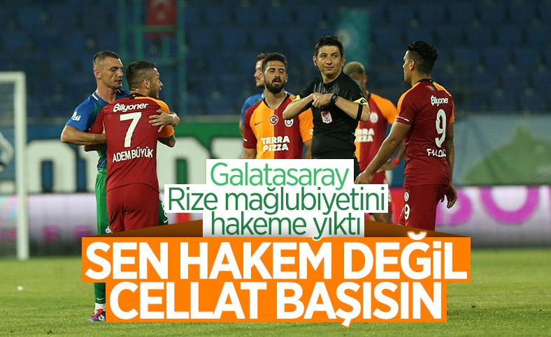 Galatasaray: Hakem değil, cellat başı