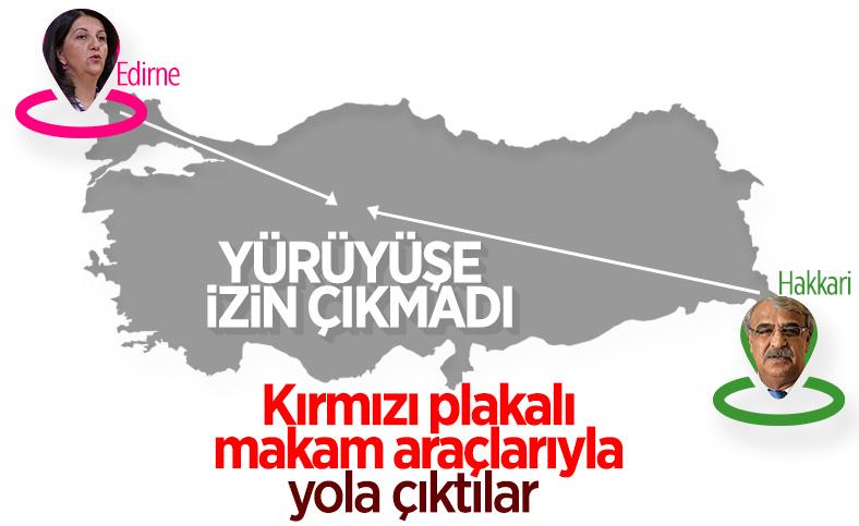 HDP'ye Hakkari'de yürüyüş izni verilmedi