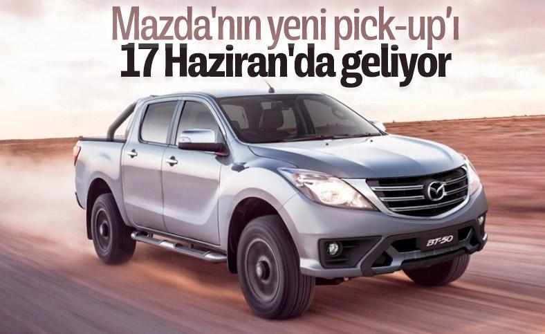 Yeni Mazda BT-50, 17 Haziran'da tanıtılacak