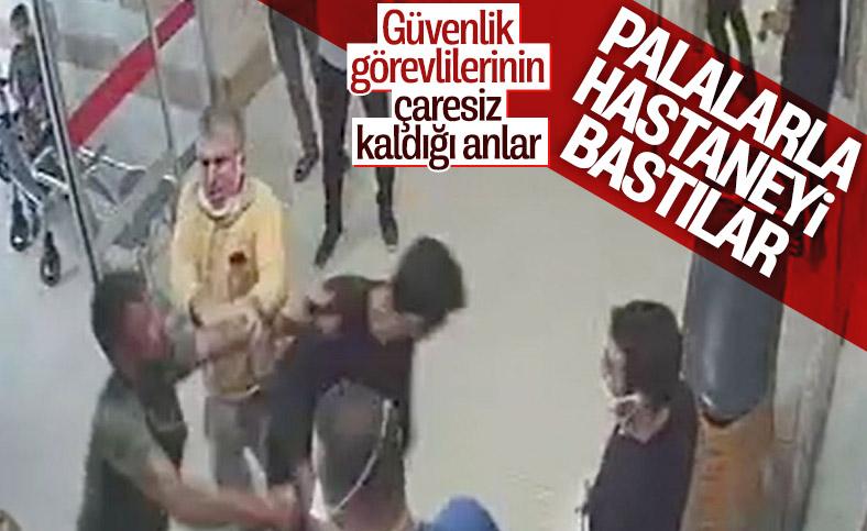 Gaziantep'te sağlık çalışanlarına palalı saldırı
