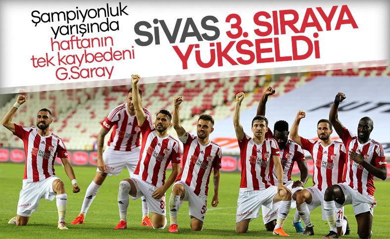 Sivasspor, Denizlispor'u tek golle geçti