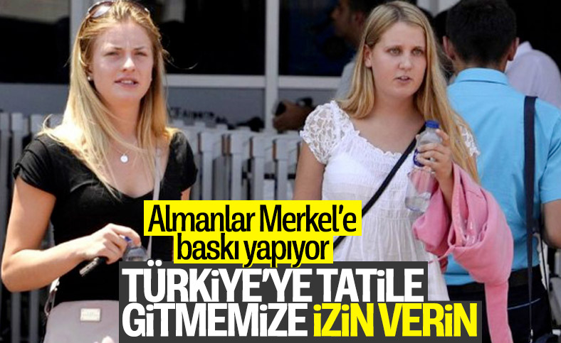 Alman turistler, Türkiye'ye gelmekte ısrarcı