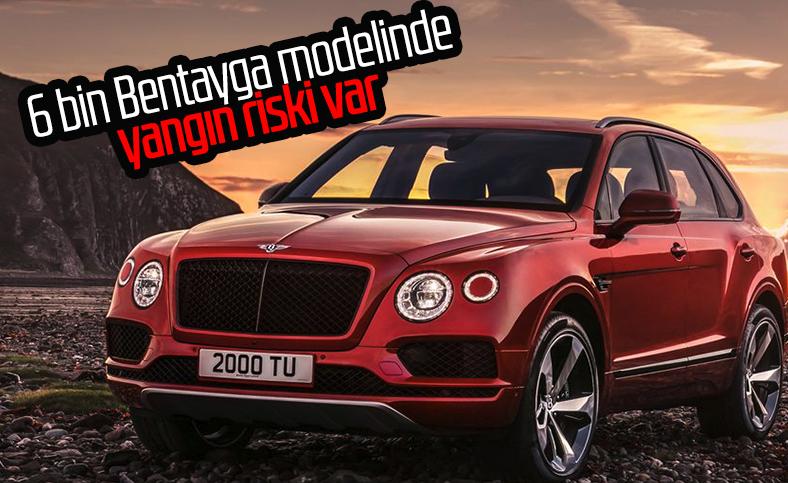 Bentley, 6 bin Bentayga modelini geri çağırıyor