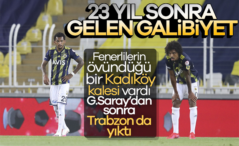 G.Saray'dan sonra Trabzonspor da Kadıköy'de kazandı