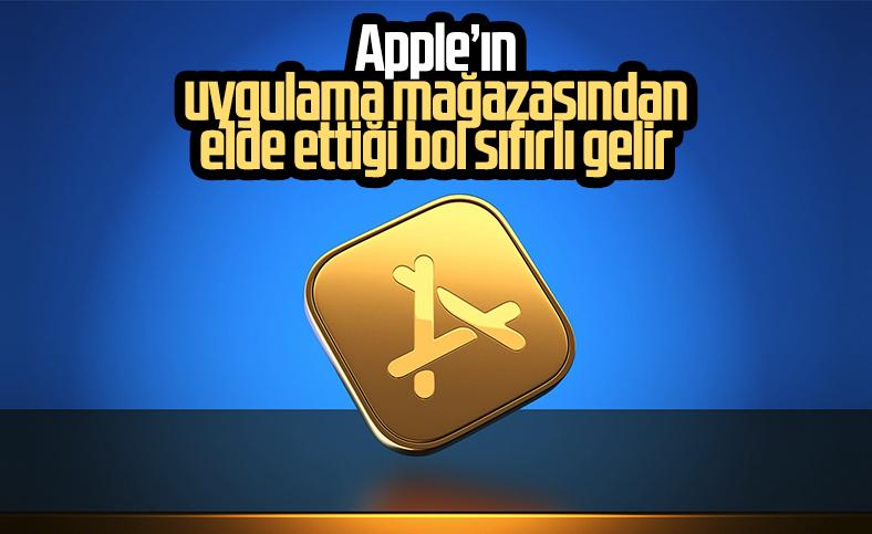 Apple'ın App Store'dan elde ettiği dev gelir belli oldu