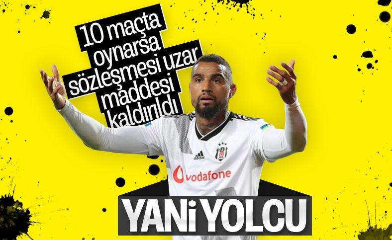 Beşiktaş, Boateng'in sözleşmesindeki maddeyi kaldırdı