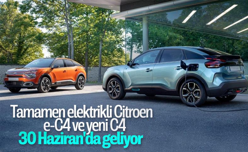 Yeni Citroen e-C4 ve C4, 30 Haziran'da tanıtılacak