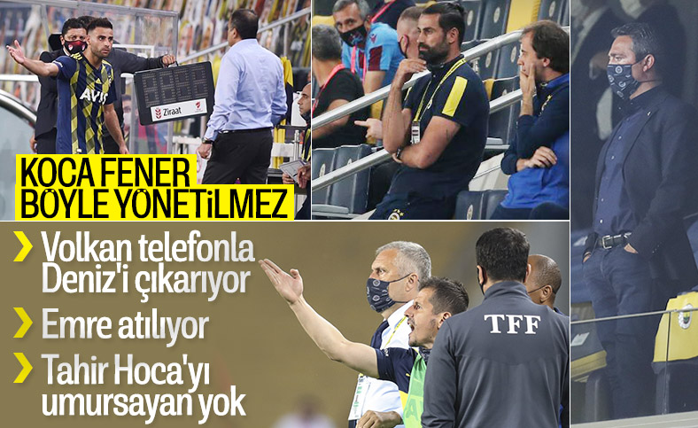 Fenerbahçe'de teknik direktör kim, belli değil