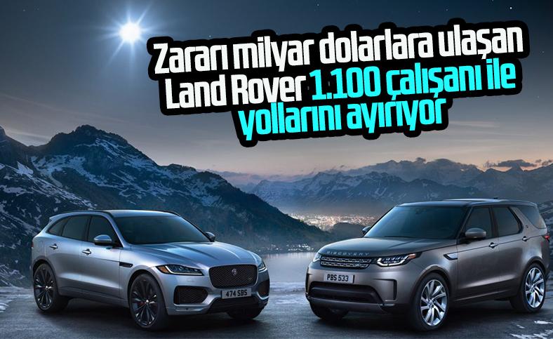 Jaguar Land Rover 1100 kişiyi işten çıkaracak