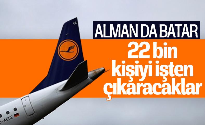 Lufthansa, 22 bin çalışanı işten çıkaracak