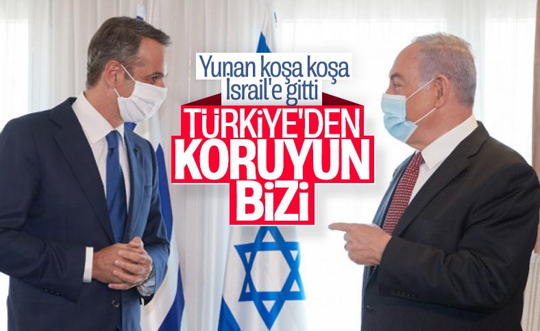 İsrail'den, Türkiye'ye karşı Yunanistan'a açık destek