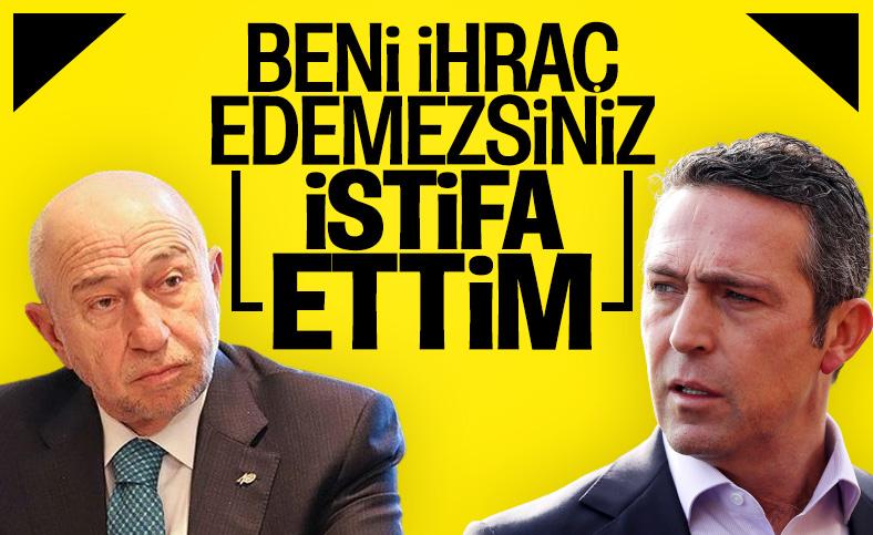 Nihat Özdemir, Fenerbahçe üyeliğinden istifa etti