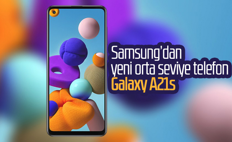 Samsung'un orta seviye telefonu Galaxy A21s tanıtıldı