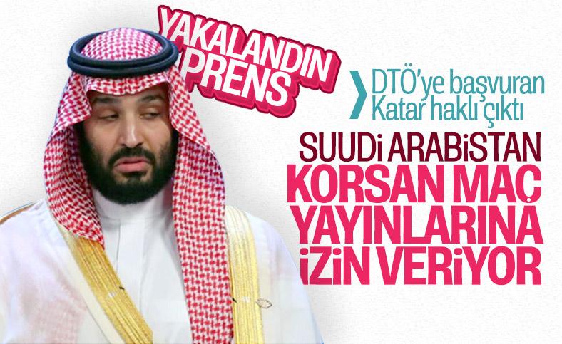 Korsan maç yayınında Suudilerin parmağı kanıtlandı