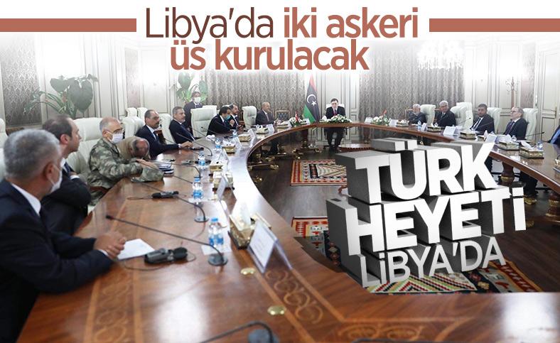 Türk heyeti Libya'ya gitti