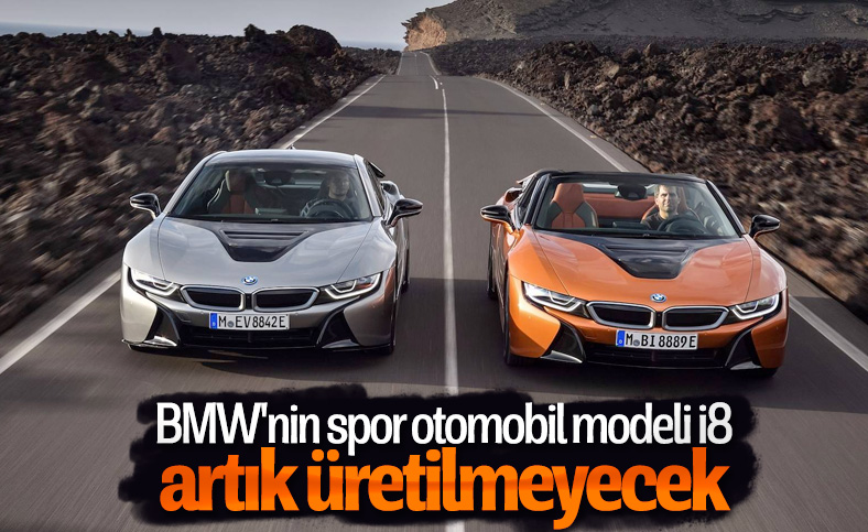 BMW i8'in üretimi tamamen durduruldu
