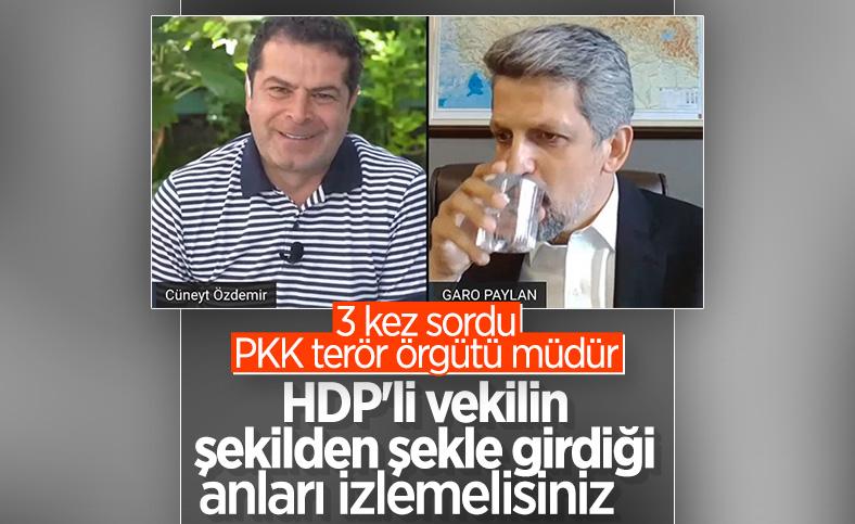 Cüneyt Özdemir'in Garo Paylan'a PKK sorusu