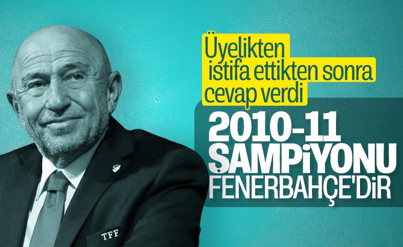 Nihat Özdemir: 2010-11 şampiyonu TFF'de yazıyor