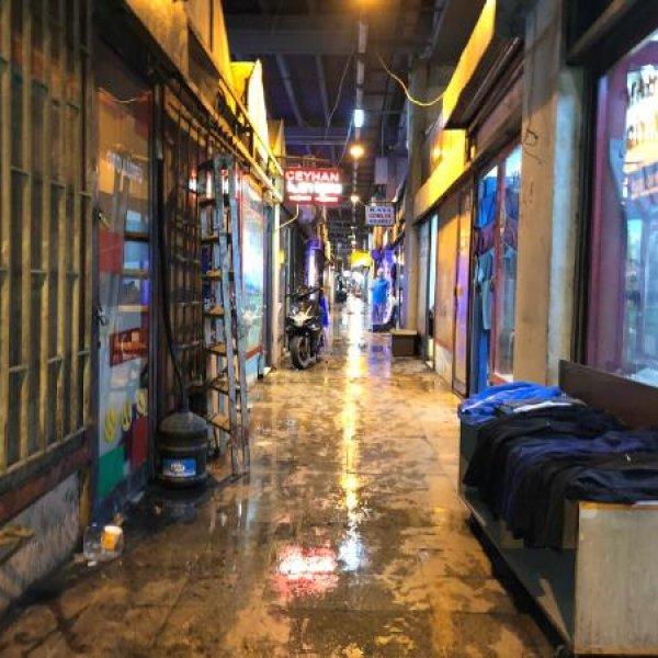15 Temmuz Demokrasi Otogarı'nı yine su bastı