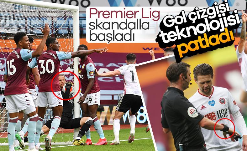 Sheffield United, teknolojinin kurbanı oldu