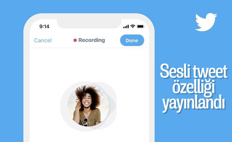 Twitter, sesli tweet özelliğini iOS kullanıcılarına sundu