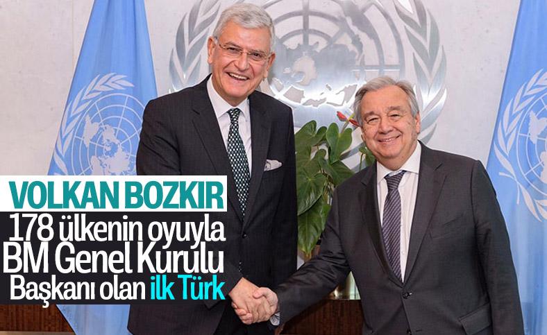 BM 75. Genel Kurul Başkanlığı'na Volkan Bozkır seçildi