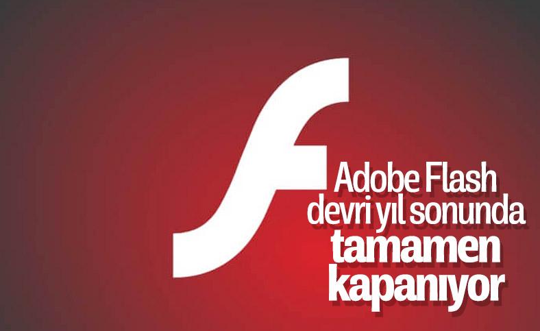 Adobe, Flash kullanımını sona erdireceği tarihi açıkladı
