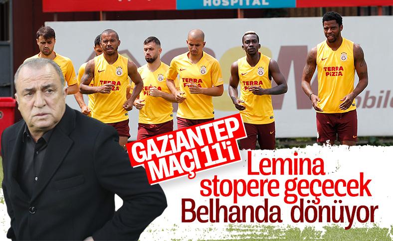 Fatih Terim'in Gaziantep maçı 11'i
