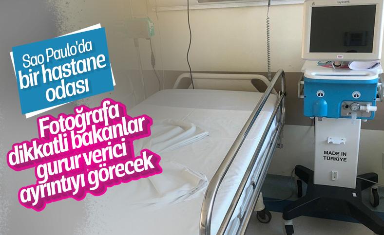 Türkiye'nin solunum cihazları Brezilya'da kullanımda
