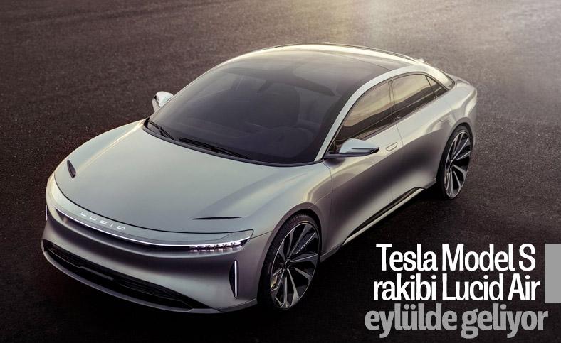 Lucid Motors'un elektrikli aracı eylülde tanıtılacak