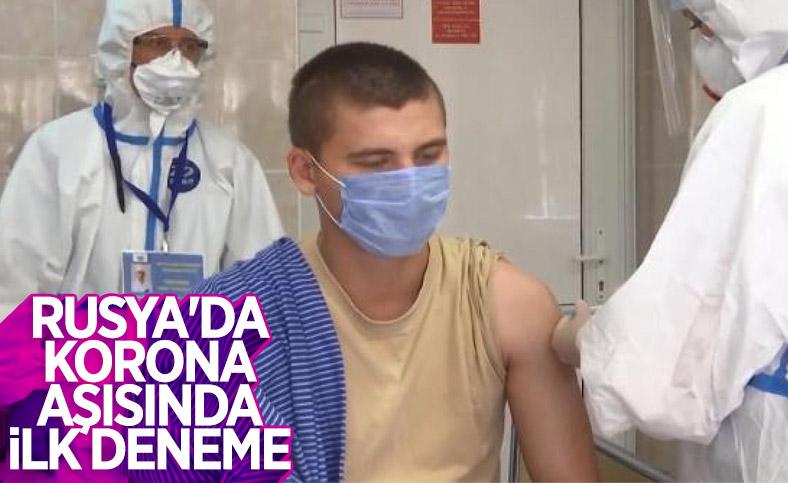 Rusya'da koronavirüs aşısı için ilk deneyler başladı
