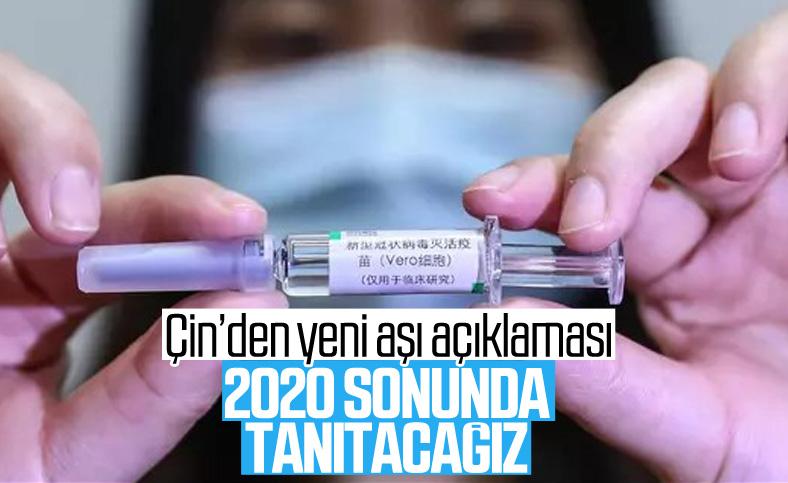 Çin: Korona aşısını yıl sonunda tanıtacağız