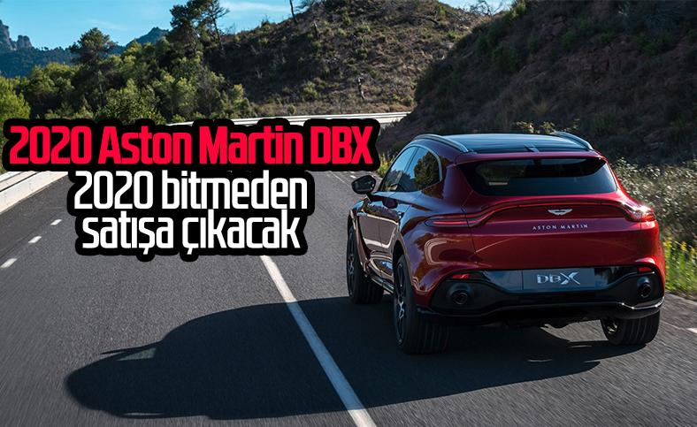 2020 Aston Martin DBX, ağustosta Türkiye'ye geliyor