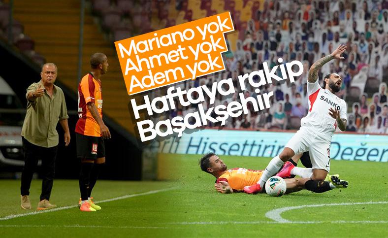 Mariano ve Ahmet Çalık, Başakşehir maçında yok