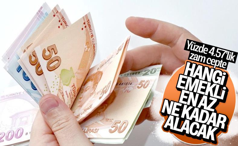 Zam sonrası en düşük emekli maaşı