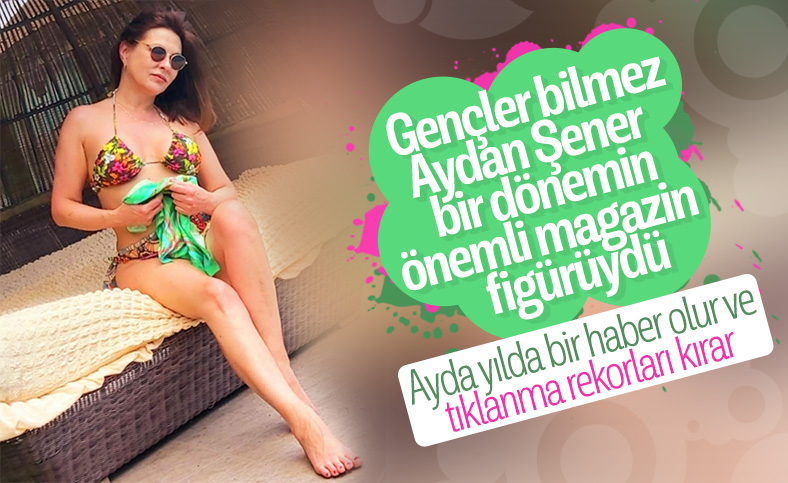 Aydan Şener: Bikinili fotoğraf paylaşmak hoşuma gidiyor