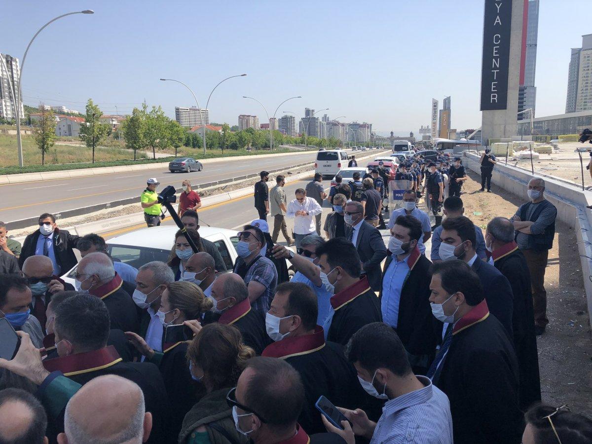 Baro üyelerinin Ankara'ya girişine izin verilmedi #3