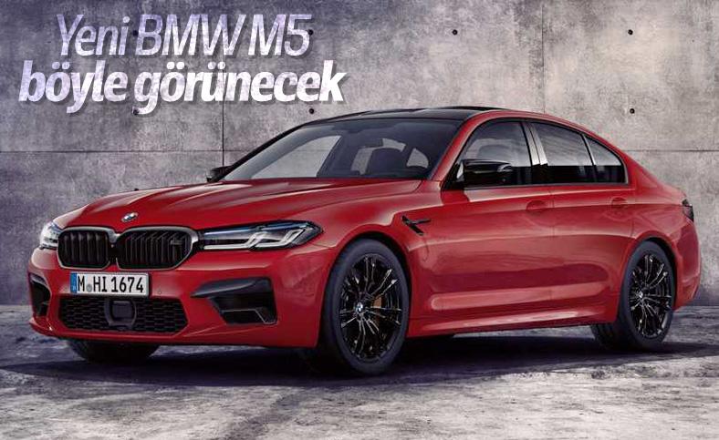 Yeni BMW M5'in görüntüleri ortaya çıktı