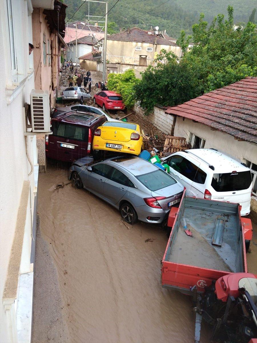 Bursa'da sel felaketi: 5 kişi hayatını kaybetti #8